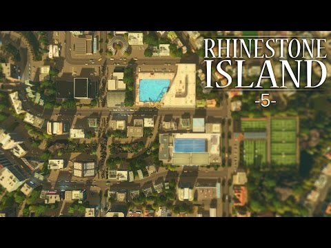 "Cities Skylines - Rhinestone Island [PART 5] ""Outdoor Shopping Center"""