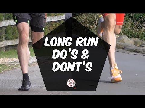 Long training runs for marathon do's and dont's | long run training tips | half marthon