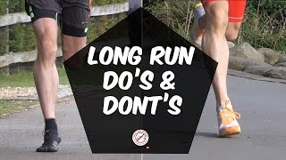 Long training runs for marathon do's and dont's | long run training tips | half marthon