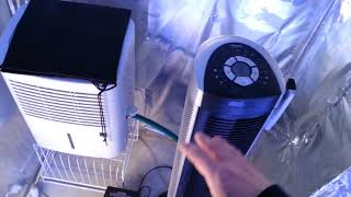 How to control grow room humidity levels