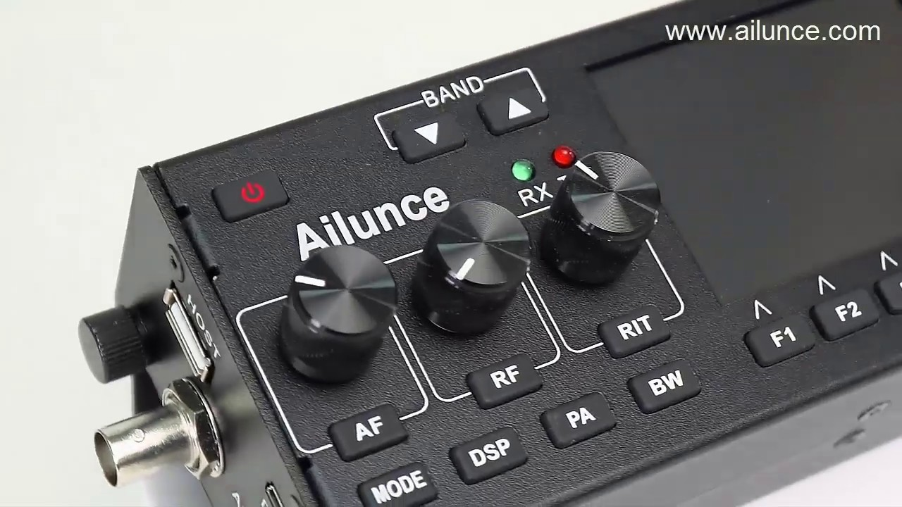 Ailunce HS1 HF SDR HAM Transceiver Introduction