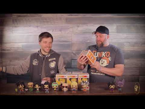 Dragonball and Dragon Ball  Z Pop Unboxing