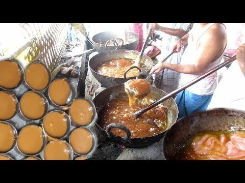 Sohan Halwa Sweet Prepartion | Indian Villagers Working Hard | Street Food Loves You Present