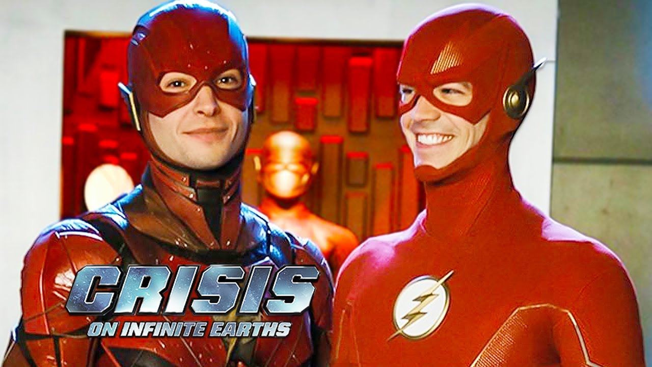 Download Crisis On Infinite Earths Ezra Miller Cameo Scene and Justice League Flash Movie Breakdown