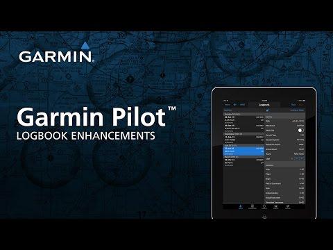 Garmin Pilot™: Logbook Enhancements