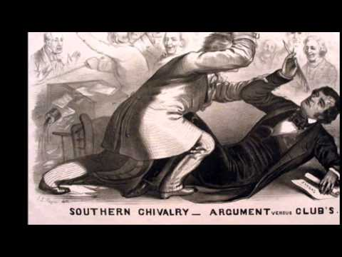 The Assault of Charles Sumner by Preston Brooks