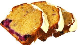 Сметанный пирог с ягодами. Простой в приготовлении и очень нежный. Видео 4к