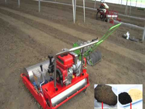 Vegetable Seed Planter Machine For Carrot Cabbage Tomato Etc Youtube