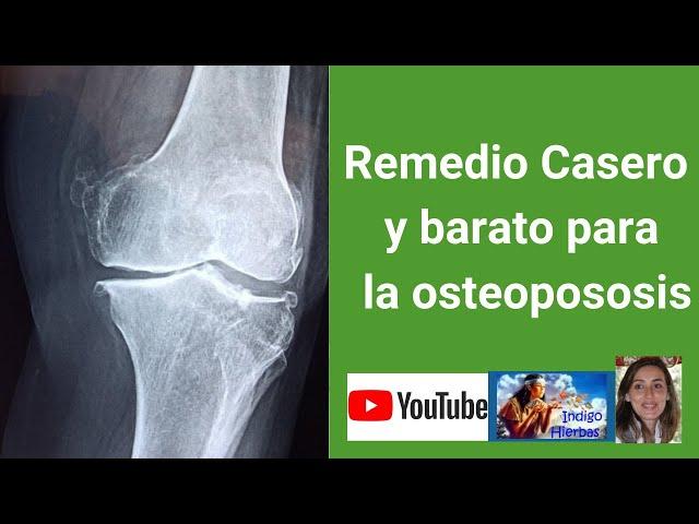 Receta Casera para la Osteoporosis