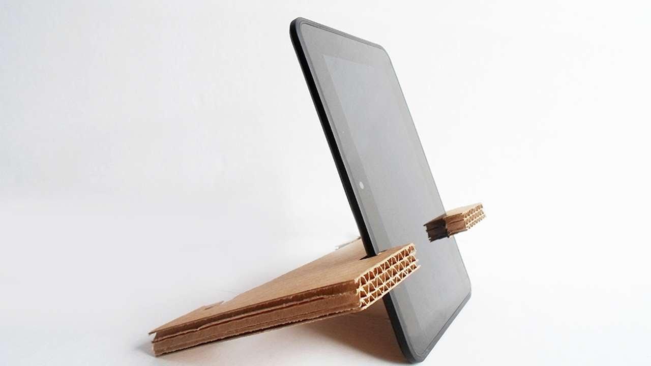 Crea Un Semplice Stand Per Tablet In Cartone Fai Da Te