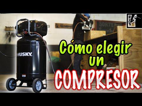 🌬¡Cómo elegir un COMPRESOR! || Tipos de compresores para taller/garage