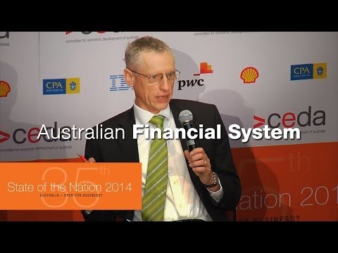 Australian financial system - David Gruen