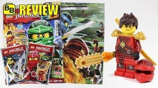 LEGO NINJAGO MAGAZINE ISSUE 23 DOTD KAI MINIFIGURE REVIEW