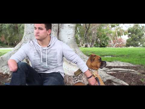 Soldier Hard - Imagine That - Official Music Video HD  (PTSD Service Dogs)