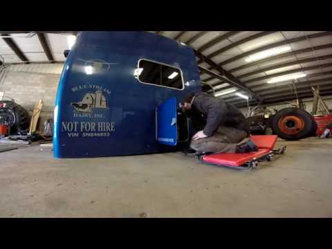 Ford F750 Haul Truck Build Part 35 - THE SLEEPER