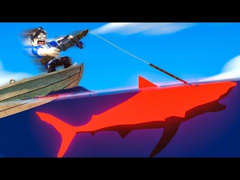 Catching a NEON SHARK !? (Fishing Simulator) |