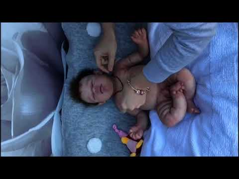 Silicone baby COOPER by Olga Romanova (Reborn de silicona platino)