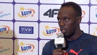 Usain Bolt Plans To Call Louis van Gaal If Man Utd Lose Again - Talks About Taking Trials For Utd