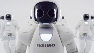 Демонстрация возможностей робота ASIMO
