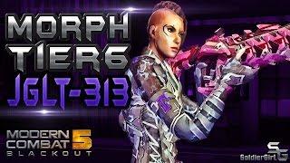 MODERN COMBAT 5: Review Tier6 JGLT-313 Morph