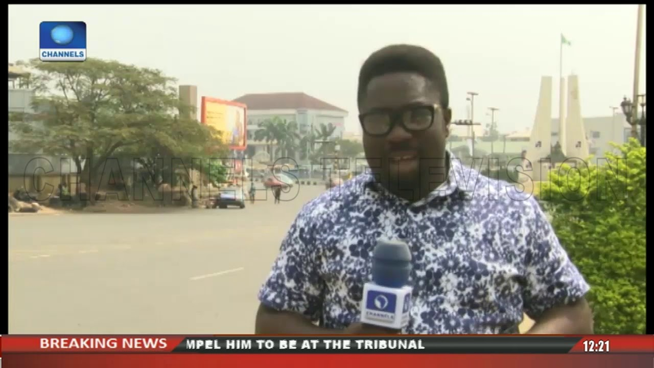 ChannelsTV's Eyitope Gives Update On Political Happenings In Imo State
