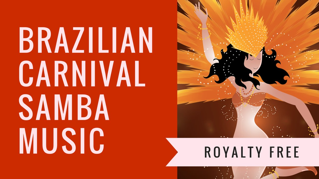 Brazilian Carnival Samba Music For Promotional Video Commercial Business Use
