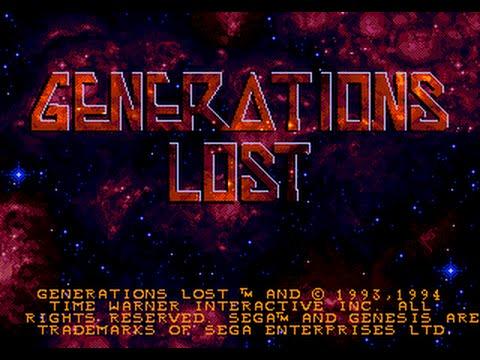Mega Drive Longplay [408] Generations Lost