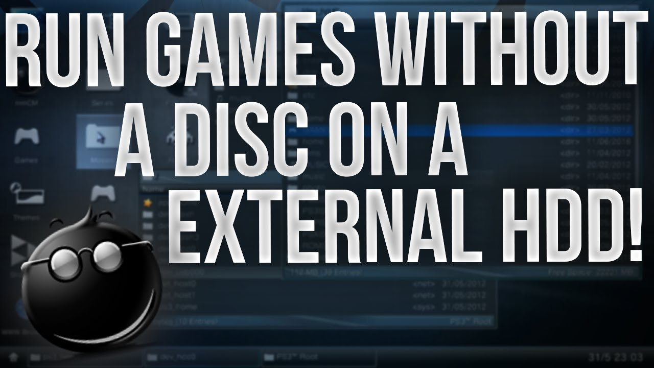 PS3: MultiMAN - Run Games from External HDD without a Disc! (HD)