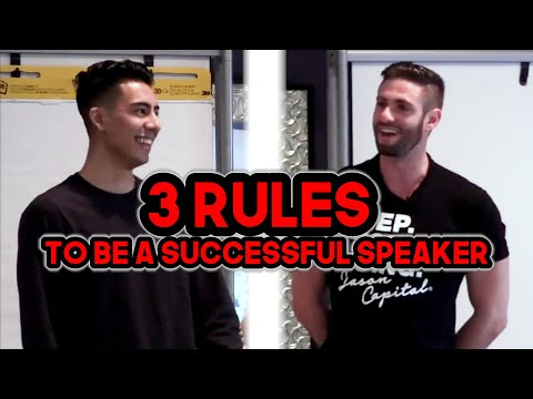 3 Rules To Overcome Your Fear Of Public Speaking & Be A Succ