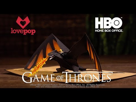 Lovepop Partners with HBO to Create The Lovepop Game of Thrones Collection