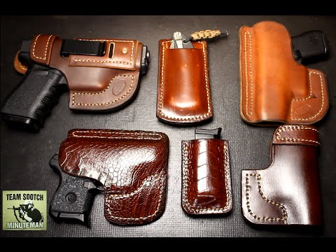 Looking For A Custom Leather Holster Jackson Leatherwork