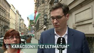 Karácsony Gergely szerint ultimátumot kapott Budapest 20-02-25
