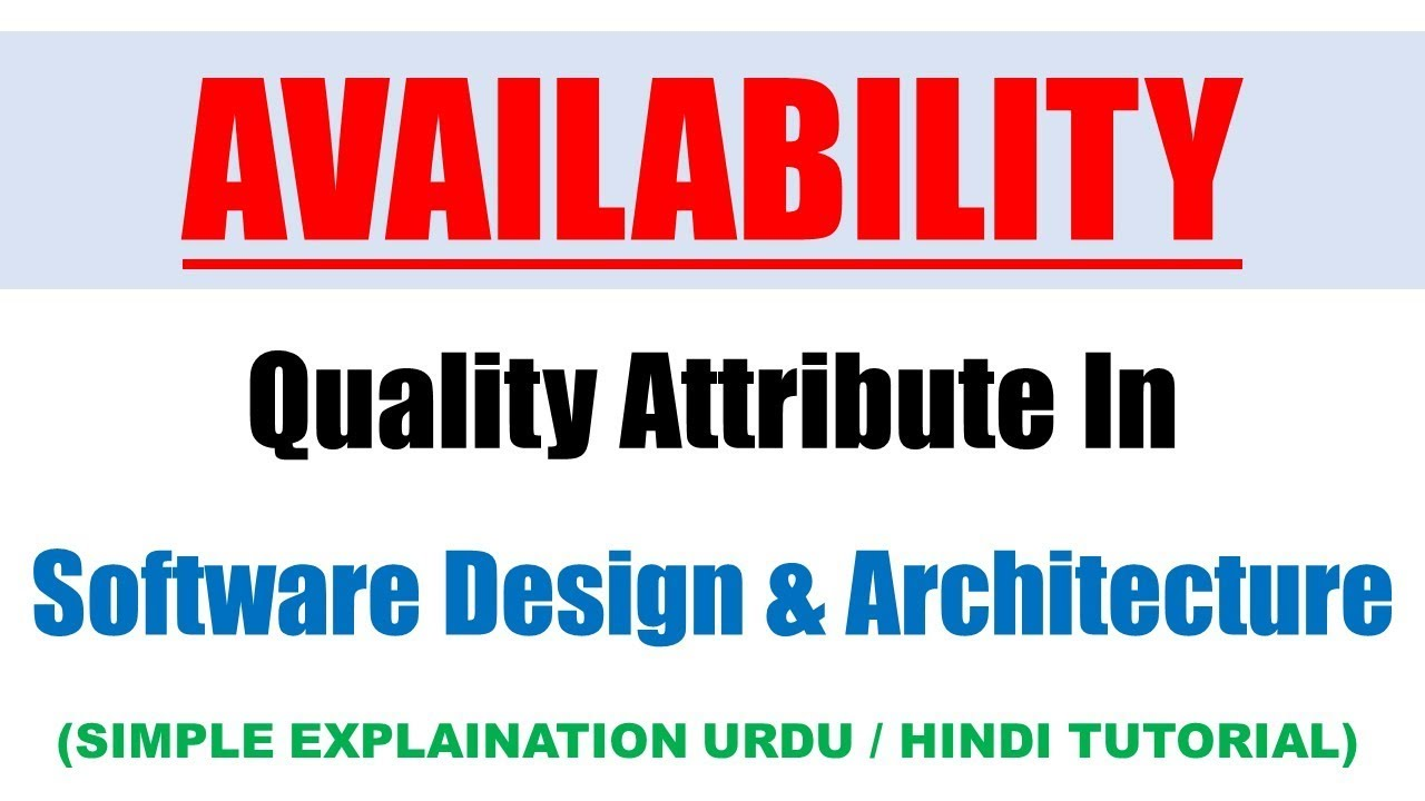 Modifiability In Software Architecture Software Design And Architecture Youtube