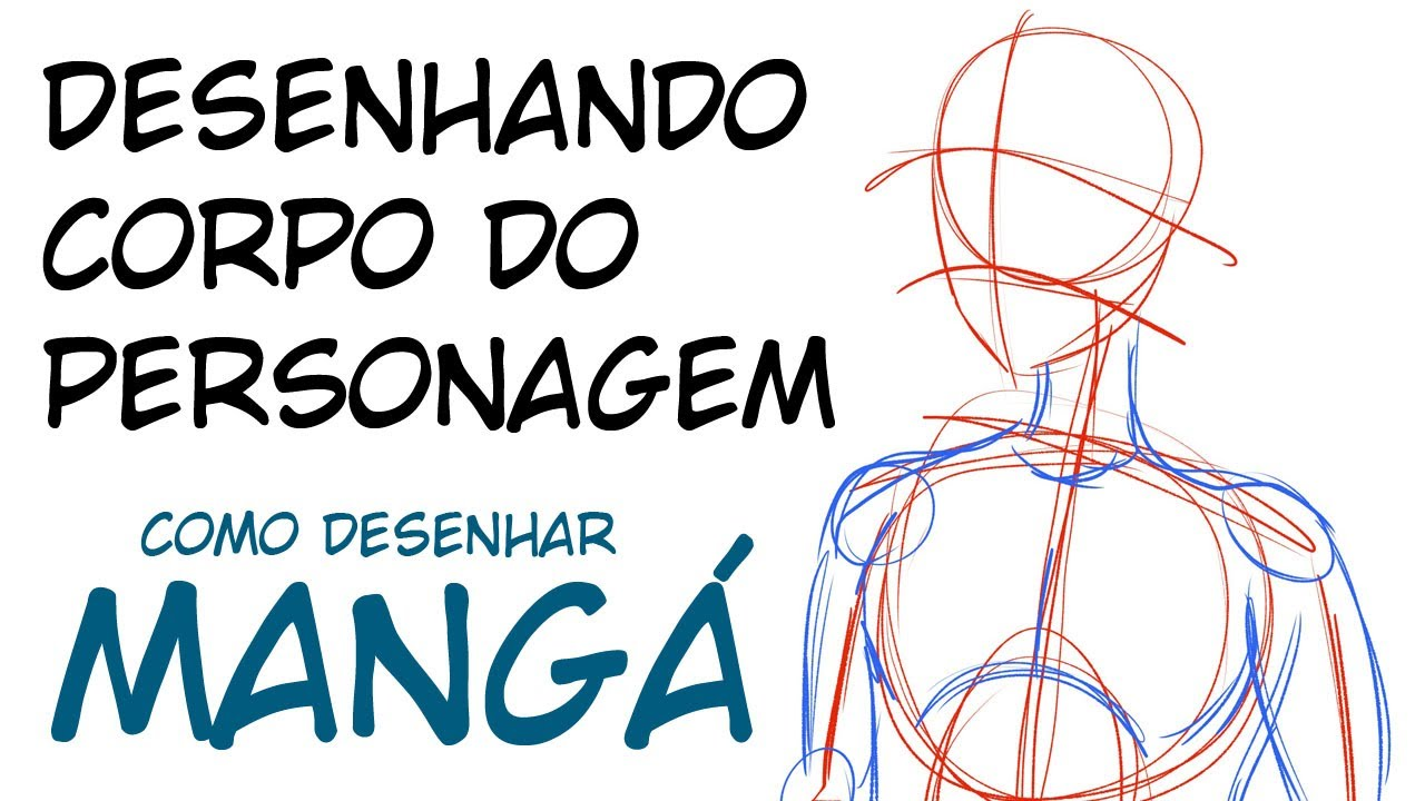 Como Desenhar O Esboco Do Corpo Youtube