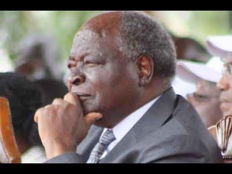 Kenya's third president, Mwai Kibaki's condolence message at late Dr. Wahome Gakuru death