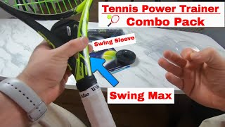 Tennis Power Trainer Combo Pack - Ultimate Tennis Training Aids?
