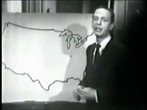 Don Knotts the Nervious Weatherman!