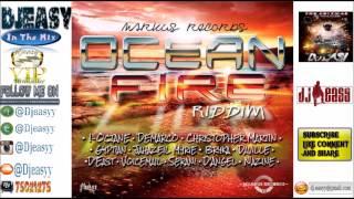 Ocean Fire Riddim mix {JAN 2015} (Markus Records) mix by djeasy