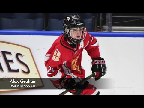 Alex Graham - 2003 Born - Iowa Wild AAA (2016/17)