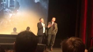Sherlock The Final Problem intro at the BFI - 13 Jan 2017
