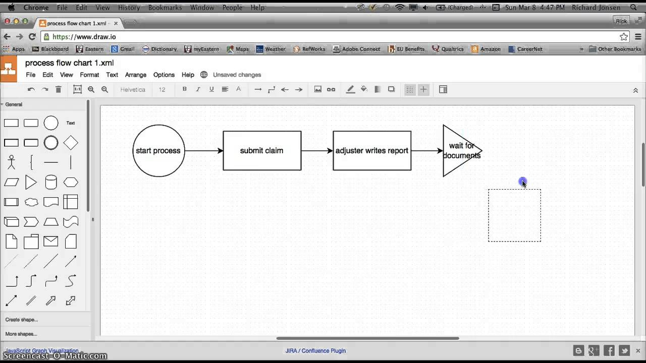 Busa 321 create process flow chart using draw youtube busa 321 create process flow chart using draw nvjuhfo Choice Image