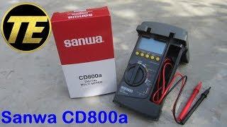 Unboxing The Digital Multimeter Sanwa CD800a