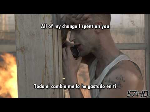 Maroon 5 Ft. Wiz Khalifa & Flo Rida - Whistle Payphone HD Video Subtitulado Español Lyrics