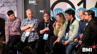Discussing director/composer relationships at the 2014 BMI Sundance Composer Director Roundtable