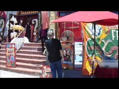 Venice Beach Freakshow Announcer