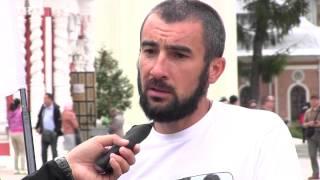 Интервью участников велопробега ''Святая Русь''