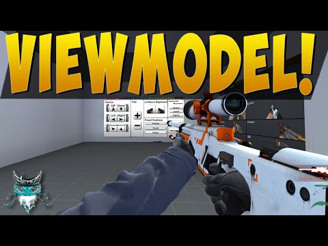 how to make your viewmodel in csgo save