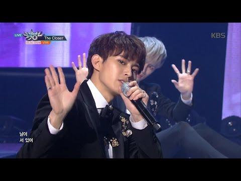 뮤직뱅크 - VIXX, 남다른 치명미로 무대 장악! 'The Closer'.20161111