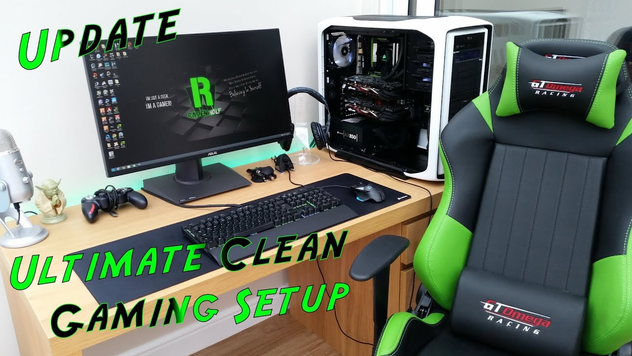 Recliner Gaming Setup Ultimate Clean Gaming Youtube Setup 2015 Pc Build Asus