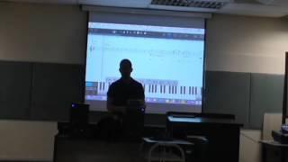 Bach/Gounod Solfege in class.